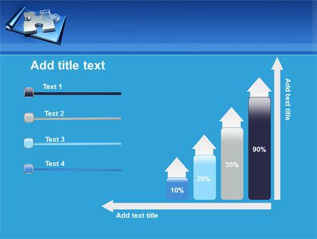 Jigsaw Sketch PowerPoint Template Slide 8