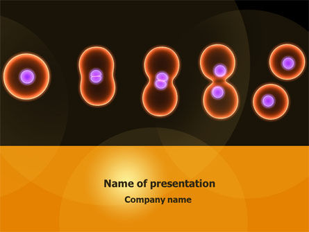 Medical: Cell Amitosis PowerPoint Template #08121