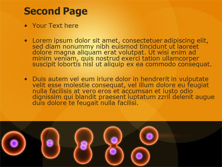 Cell Amitosis PowerPoint Template Slide 2
