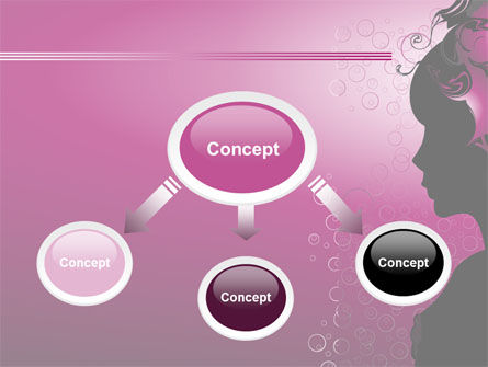 Woman PowerPoint Template, Slide 4, 08123, Careers/Industry — PoweredTemplate.com