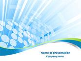Business: Shower PowerPoint Template #08124