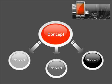 Touchscreen Phone PowerPoint Template Slide 4