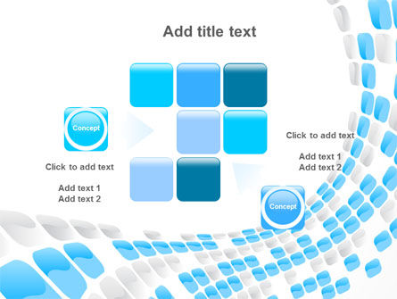 Blue Dots PowerPoint Template Slide 16