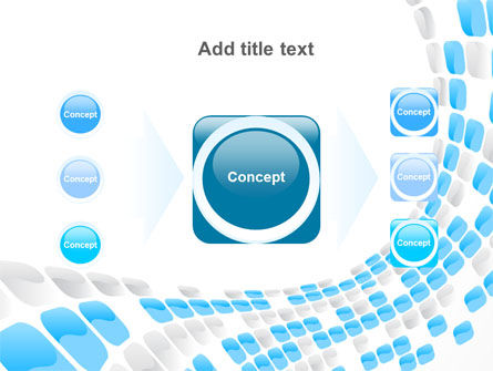 Blue Dots PowerPoint Template Slide 17