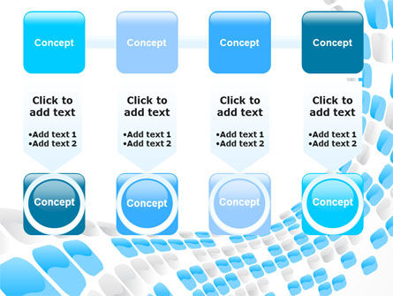 Blue Dots PowerPoint Template Slide 18