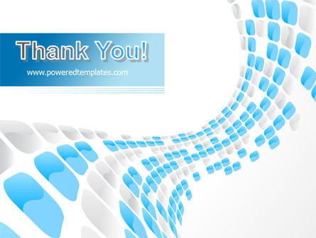 Blue Dots PowerPoint Template Slide 20
