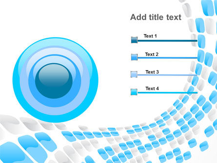 Blue Dots PowerPoint Template Slide 9