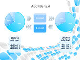 Blue Dots PowerPoint Template#11