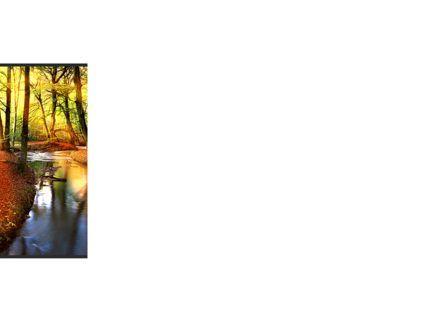 Autumn Forest PowerPoint Template, Slide 3, 08132, Nature & Environment — PoweredTemplate.com