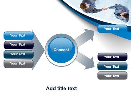 Business Handshake PowerPoint Template Slide 14