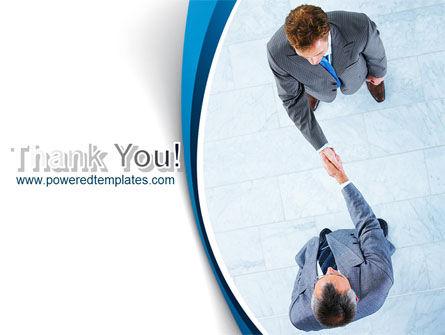 Business Handshake PowerPoint Template Slide 20