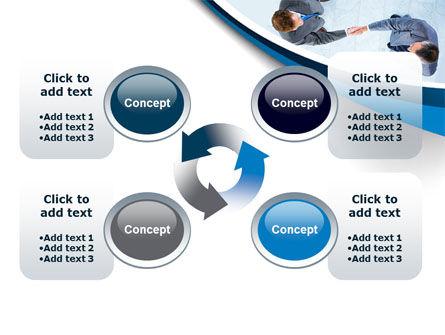 Business Handshake PowerPoint Template Slide 9