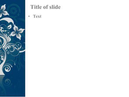 Floral Ornament PowerPoint Template, Slide 3, 08134, Abstract/Textures — PoweredTemplate.com