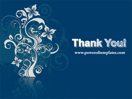 Floral Ornament PowerPoint Template Slide 20