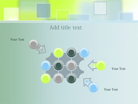 Theme with Squares PowerPoint Template Slide 10