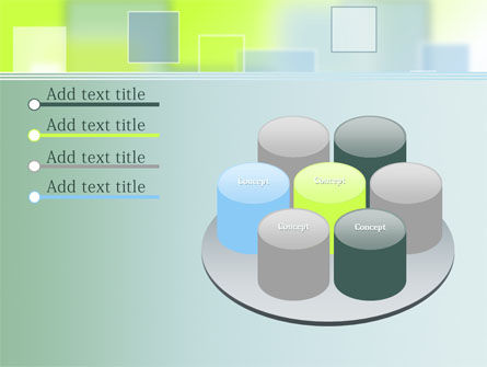 Theme with Squares PowerPoint Template Slide 12