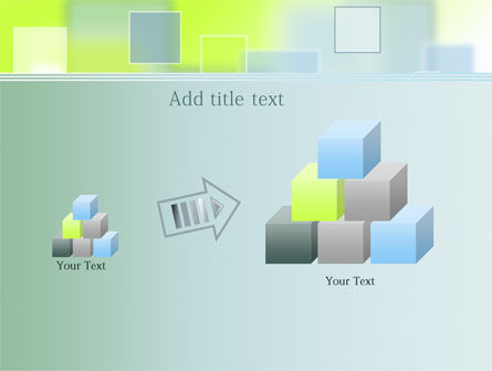 Theme with Squares PowerPoint Template Slide 13