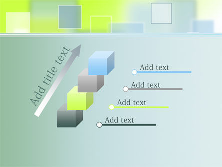 Theme with Squares PowerPoint Template Slide 14