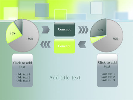 Theme with Squares PowerPoint Template Slide 16