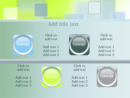 Theme with Squares PowerPoint Template Slide 18
