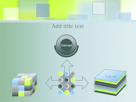 Theme with Squares PowerPoint Template Slide 19