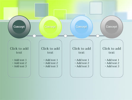 Theme with Squares PowerPoint Template Slide 5