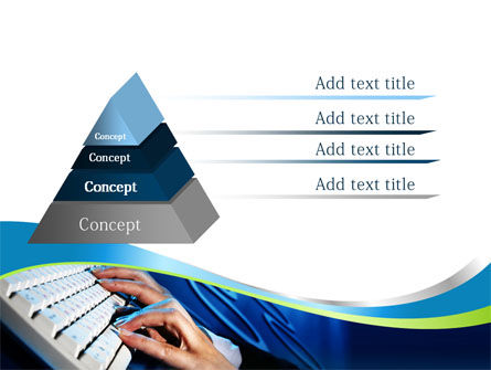 Typing PowerPoint Template, Slide 4, 08139, Computers — PoweredTemplate.com