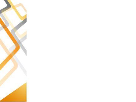 Orange Framework PowerPoint Template, Slide 3, 08141, Abstract/Textures — PoweredTemplate.com