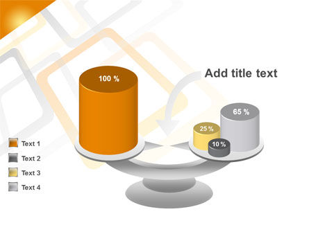 Orange Framework PowerPoint Template Slide 10