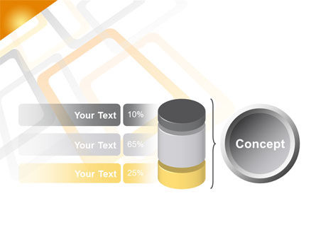 Orange Framework PowerPoint Template Slide 11