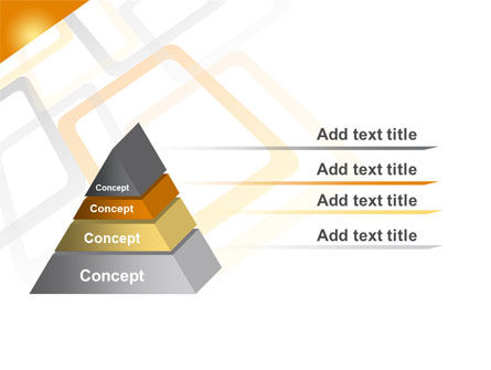 Orange Framework PowerPoint Template Slide 12