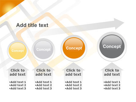 Orange Framework PowerPoint Template Slide 13