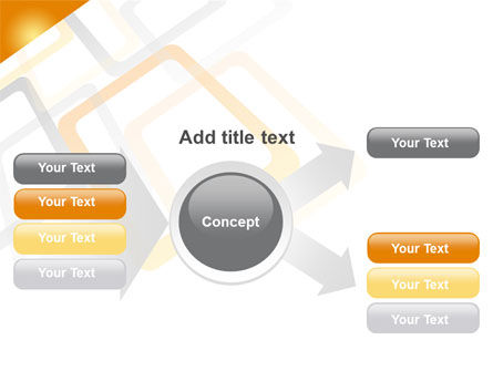 Orange Framework PowerPoint Template Slide 14