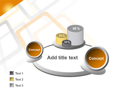Orange Framework PowerPoint Template Slide 16