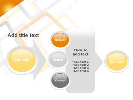 Orange Framework PowerPoint Template Slide 17