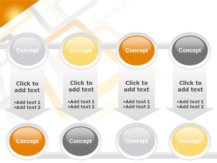 Orange Framework PowerPoint Template Slide 18