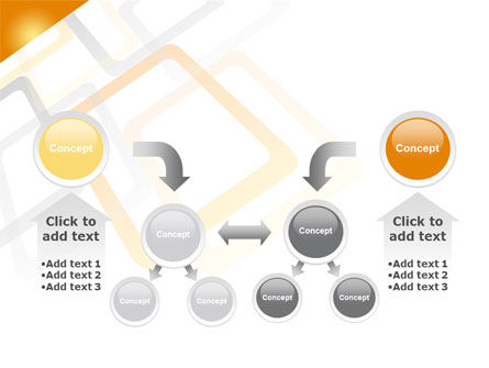 Orange Framework PowerPoint Template Slide 19