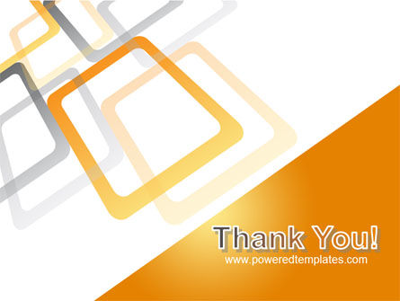 Orange Framework PowerPoint Template Slide 20