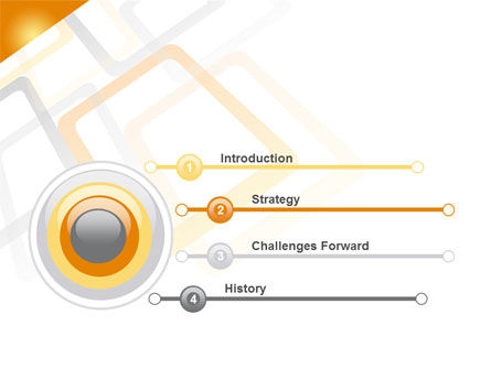 Orange Framework PowerPoint Template Slide 3