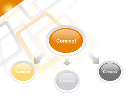 Orange Framework PowerPoint Template Slide 4