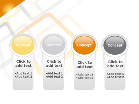 Orange Framework PowerPoint Template Slide 5