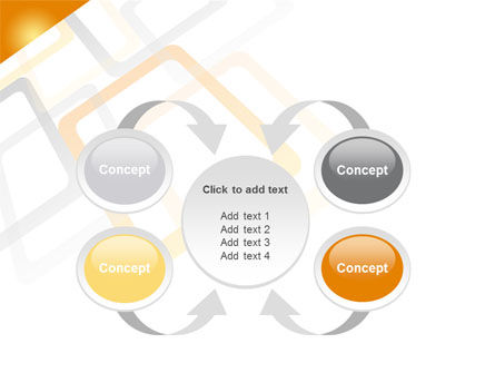 Orange Framework PowerPoint Template Slide 6