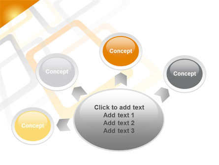 Orange Framework PowerPoint Template Slide 7