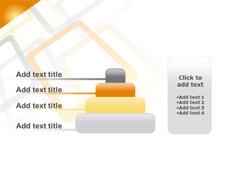 Orange Framework PowerPoint Template Slide 8
