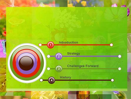 Flower Varieties PowerPoint Template, Slide 3, 08143, Nature & Environment — PoweredTemplate.com