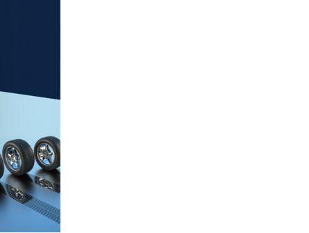 Tires On Wheels PowerPoint Template, Slide 3, 08146, Careers/Industry — PoweredTemplate.com