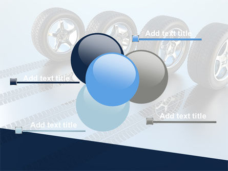 Tires On Wheels PowerPoint Template Slide 10