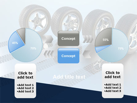 Tires On Wheels PowerPoint Template Slide 11