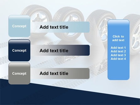 Tires On Wheels PowerPoint Template Slide 12
