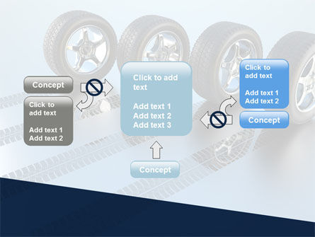 Tires On Wheels PowerPoint Template Slide 13